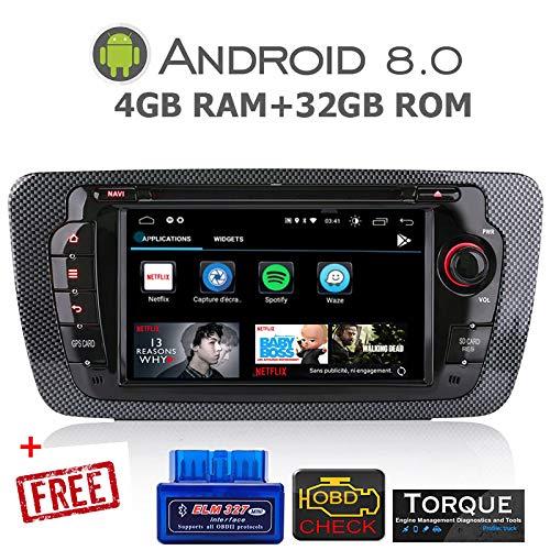 gümü-px5proat10-autoradio Seat Ibiza Android 8.0Octa Core + 4GB RAM + 32GB ROM...