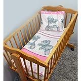 2 Piece Baby Children Quilt Duvet & Pillow Set 80x70 cm to fit Crib or Pram (22)