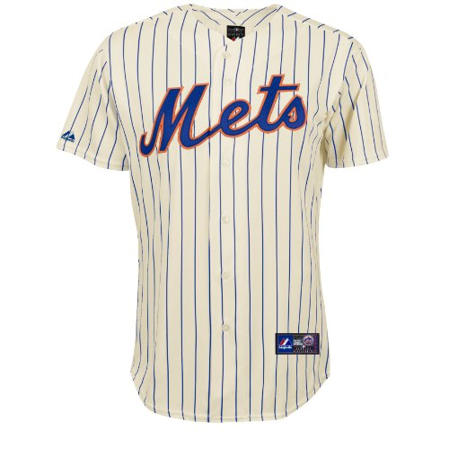 MLB Baseball Trikot/Jersey NEW YORK NY METS creme in LARGE (L)