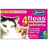 Johnsons 4Fleas Cat Flea Tablets (6 pk)
