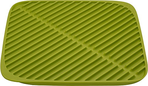 Joseph Joseph Flume Folding Draining Mat - Green