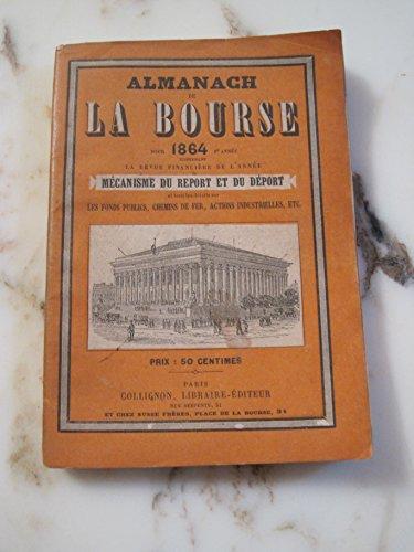 Almanach de bourse pour 1860 5eme année