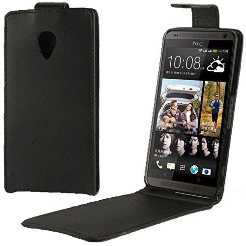 XACQuanyao Schutzhülle Fall für HTC Desire 700 Business Stil Vertical Flip PU Ledertasche - Htc 700 Desire Handy-fall,