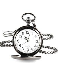 YESURPRISE Unisex Uhr Taschenuhr Anhänger Kette Halskette Gift Geschenk Pocket Watch reloj de pulsera montre de F2