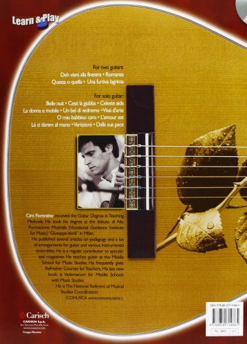 Easy Opera Arias for Cassical Guitar CD included