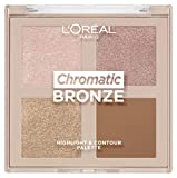 L'Oréal Paris Chromatic Bronze Highlight & Contour Palette 01, 10 g