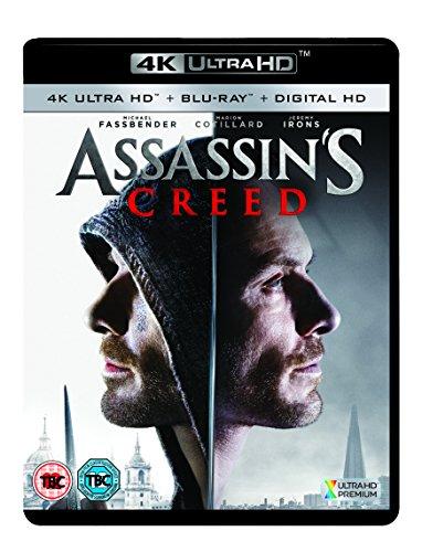 Preisvergleich Produktbild Assassin's Creed (4K UHD Blu-ray + Digital HD) UK-Import,  Sprache-Englisch