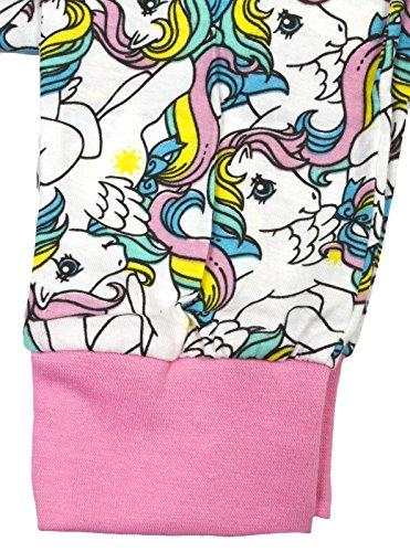 Damen Schlafanzug - T-Shirt & Lange Hose - Superhero - Baumwolle Vintage My Little Pony