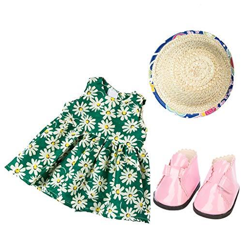 TianranRT Mode Kleidung Kleid für 18 Zoll Amerikaner Mädchen Puppe Kleidung Set (I) (Ford Mädchen Kleidung)
