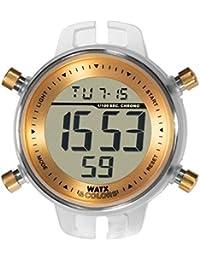 Reloj Watx & Colors bisel dorado