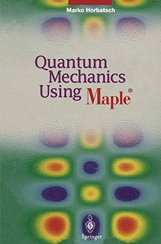 51x0aJHwQ L - BEST BUY# Quantum Mechanics Using Maple (R) Reviews and price compare uk