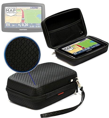 Navitech Leder GPS / SatNav Schutz Case für das Garmin Nuvi 2515, 2545, 2545LMT, 2545LMT, 2555LMT, 3540LT, 3550LM, 3598LMT-D, 3590, 3590LMT, 3597LMT HD, 3598LMT-HD