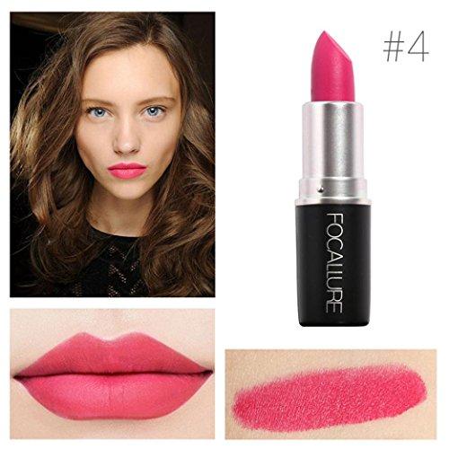 Yogogo - Rouge à lèvres - Nouveau Cosmétiques Mode Métalliquepour maquillage beauté longue durée 4#