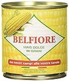 Belfiore Mais Dolce in Grani Teneri, Italiano - 8 pezzi da 160 g [1280 g]
