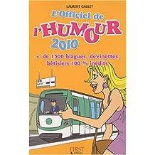 OFFICIEL DE L'HUMOUR 2010