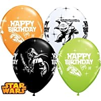 Qualatex - Globos decorativos para cumpleaños de Star Wars, 28 cm, multicolor, Set of 10