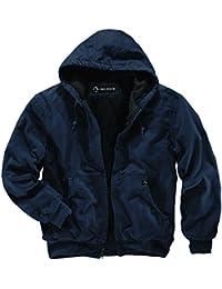 dri-duck hombre 5020cheyennes con capucha chaqueta de trabajo, hombre, azul marino, 5XL