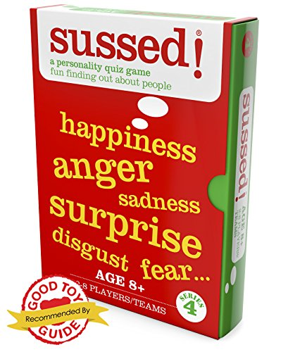 sussed!   I DIDN'T KNOW THAT   hilarious personality quiz card game