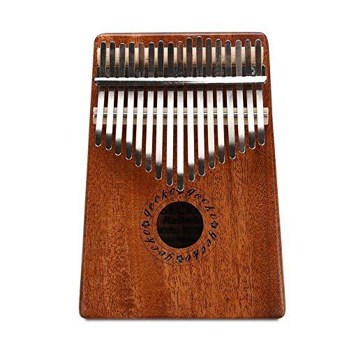 Cocoarm Daumenklavier Kalimba Instrument 17 Schlüssel Thumb Piano Hohe Qualität Professionelle Finger Daumen Piano Musikinstrument Geschenk mit Stimmwerkzeug