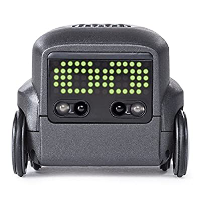 Boxer — Interactive AI Robot Toy (Black) with Personality and Emotions, for Ages 6 and Up