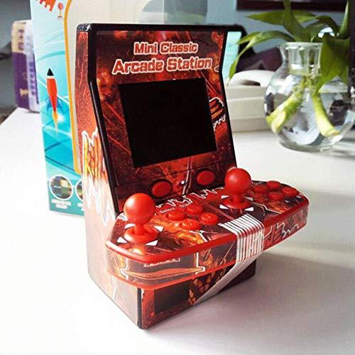 Juguete Retro Mini Consola de Juegos portátil Juegos de arcada TF Expansión Dobles Soporte Juguete