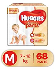 Huggies Ultra Soft Pants Medium Size Premium Diapers (68 Counts)