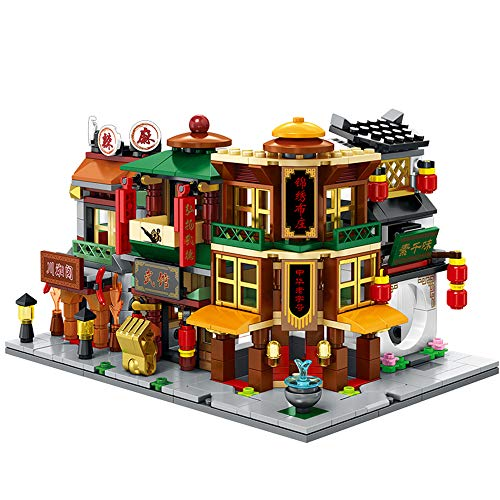 WJX Bausteine Haus Set, Building Bricks, Education Construction Engineering Building Blocks Learning for Boys & Girls, Best Kids Toy,E