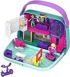 Polly Pocket Cofre Bolso Shopping, Muñeca con Accesorios (Mattel GCJ86)