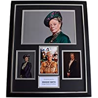 Sportagraphs Maggie Smith SIGNED Framed Photo Autograph Huge display Downton Abbey TV COA PERFECT GIFT