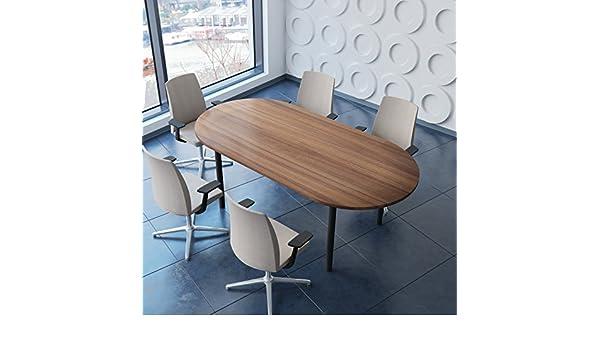 Tavolo Professionale per riunioni Optima 4-6 Pers 200 x 100 cm Tavolo da conferenza Weber Office