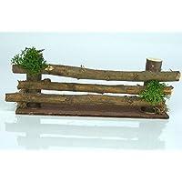 Matches21 Holz Deko Winter Zaun Aste 30 Leds Weihnachtsdekoration