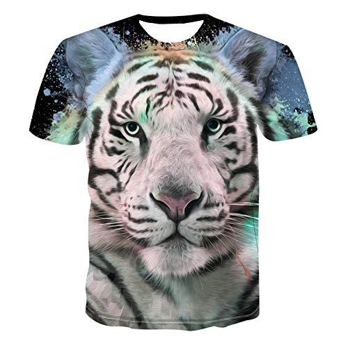 3d Fierce Galaxy Gjcdgpztx Mâle Hop Tshirts Print Shirt Femme Hip Cool Tiger Hommesfemmes Été Tigre Shirts T Drôle YHID9eWE2