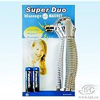 Preisvergleich für Massagegerät Super Duo, Akupressur Massage mit Magnet und Vibration
