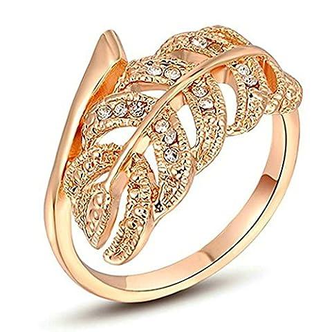 AmDxD Damen - FASHIONRING Sonstige vergoldet (Ring Pinion Kits)