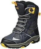Jack Wolfskin Jungen Boys Snow Ride Texapore Trekking-& Wanderstiefel, Grau (Burly Yellow Xt), 33 EU
