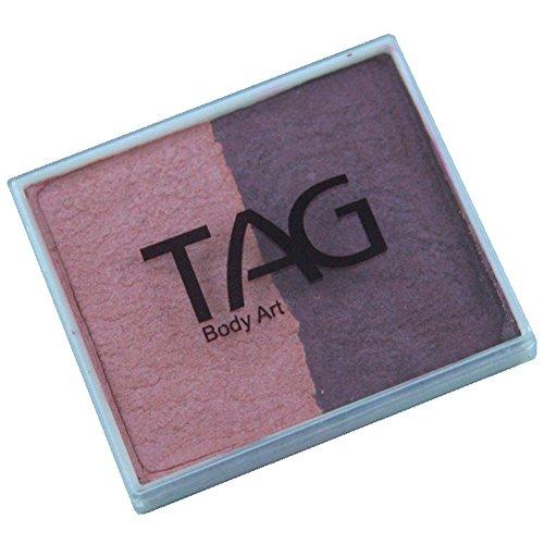 TAG Body Art 2 Farbe Split Kuchen - Perle erröten und Perlwein (50 g)