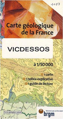 Carte géologique : Vicdessos