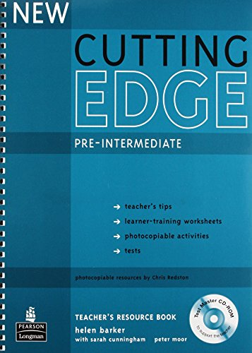 Cutting Edge Pre-intermediate New Editions Teacher's Book: Pre-intermediate Teacher's Resource Book (Cutting Edge Pre-intermediate)