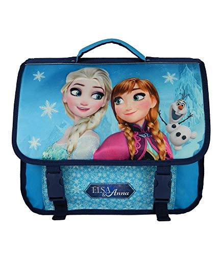 Cartable 38Cm La Reine des Neiges/Frozen Bleu Disney