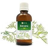 Davana-Öl 100% Natural Pure unverdünnt ungeschliffen ätherisches Öl 15ml