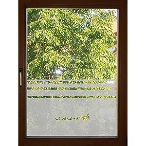 654 / 65cm hoch Sichtschutzfolie Fensterfolie Glasdekor Folie