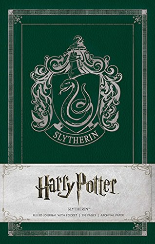 Harry Potter Slytherin Hardcover Ruled Journal (Harry Potter Ruled Journal)