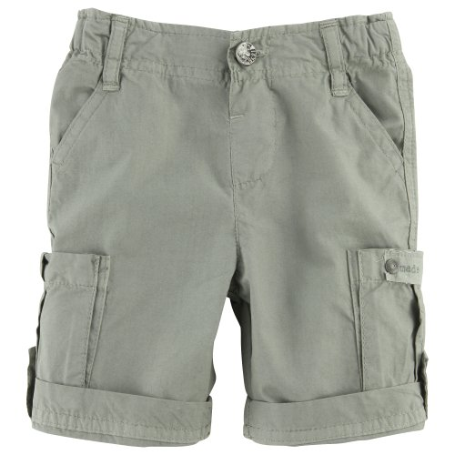 3 pommes Baby Jungen (0-24 Monate) Short Grün kaki 80 - Pom Mädchen Pom Shorts