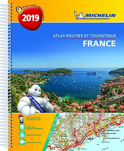 Atlas Routier et Touristique France Spirale Michelin 2019 par Michelin