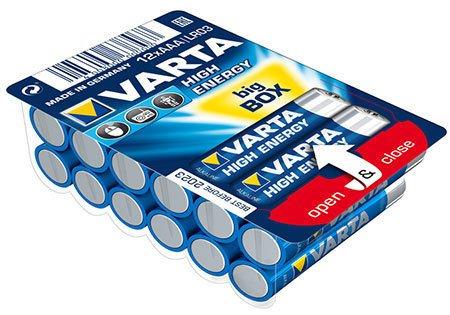Varta 4903 3x/24x High Energy Mikro AAA Batterie Alkaline MN2400 Sonderpack Lr03 (Aaa Varta)