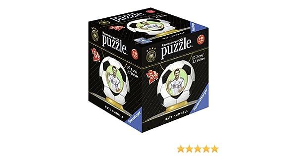 54 Teile Ravensburger 3D Puzzle Ball WM 2018 Mats Hummels 11928 Puzzles & Geduldspiele