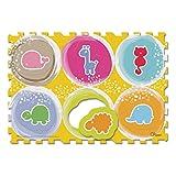 Chicco 7162 - Tappeto Puzzle, Animali