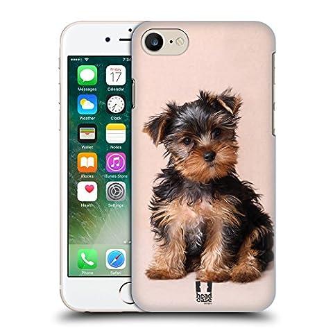 Head Case Designs Yorkshire Terrier Welpe Beliebteste Hunderassen Ruckseite Hülle für Apple iPhone 7
