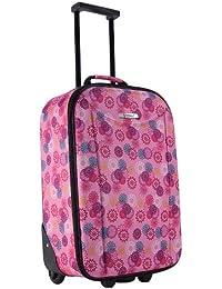 schöner Kinder Trolley für Mädchen 48cm von STEFANO pink