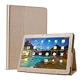 BEISTA Housse Case Tablet Cover Etui Coque de Protection pour LNMBBS Tablette Tactile 10 Pouce/YOTOPT 10.1 Pouces/SANNUO Tablette Tactile 10.1 Pouces 10 Pounce (10.1')-Or
